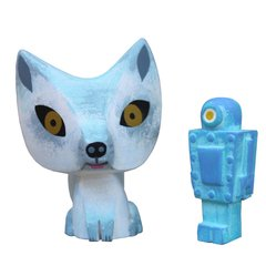 Arctic Fox and Robot resin set-sold out
