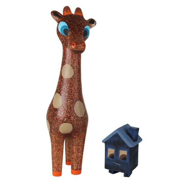 brownout sparkle giraffe- sold out