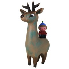 stag and lumberjane