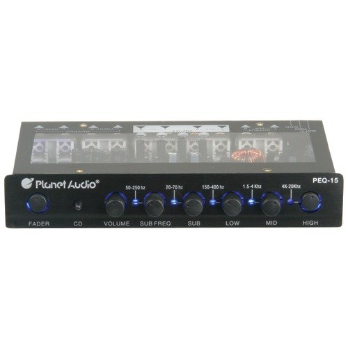 Pre Amp - Equalizers Car Audio: Electronics