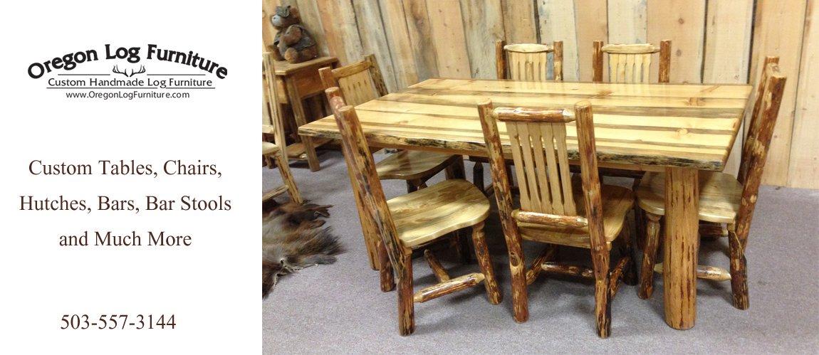 Custom Handmade Log Furniture