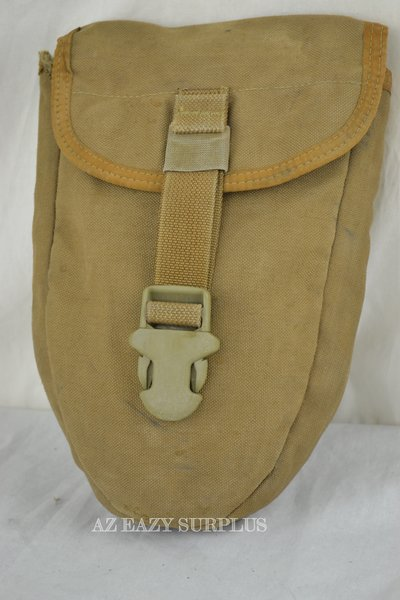 Coyote Entrenching Tool Carrier Pouch Used