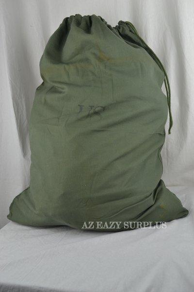 Olive Drab Barracks Bag Laundry Bag Used