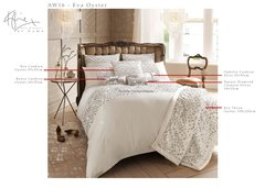 AW 2016 Kylie at home Eva Oyster bedding and cushions