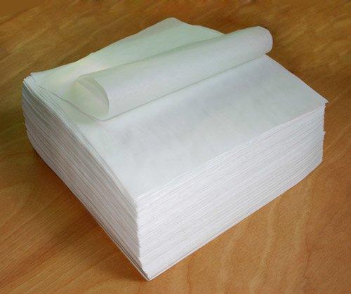 Tamale Wrap Smooth Parchment Paper Outer Wrap Plain