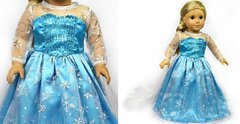 "Ice Princess 18"" Doll dress"