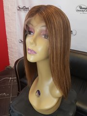 "12"" Bob 100 % Brazilian Human Hair Lace Front Custom Unit"