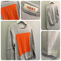 Maan Rubix Orange Sweater Size:6