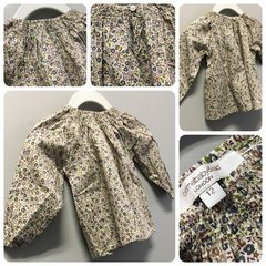 Caramel Baby & Child Woodsy Flower Top Size:12M