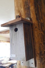 Reclaimed Barnsided Bird House