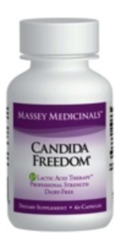 """Candida Freedom"" (60 caps) by Massey Medicinals $33.99"