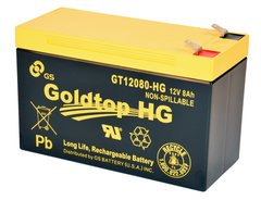 GT12080-HG - Premium Replacement Battery  (3 Year Warranty) for PX12072 for AT&T U-Verse, Centurylink and most other FTTH systems