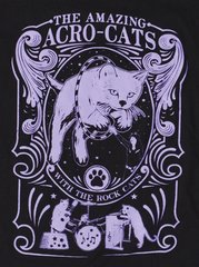 Our NEW Amazing Acro-Cats Design T-Shirt!