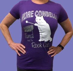 More Cowbell Tees for Ladies