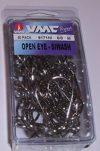 Vmc Open Eye Siwash Hooks Discount Tackle Outlet
