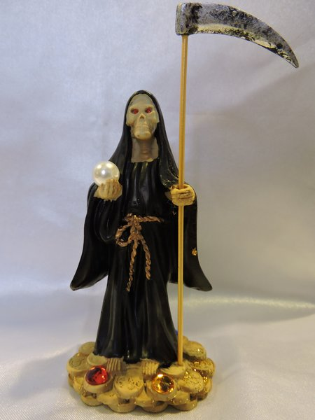 Santa Muerte Negra - Black Holy Death