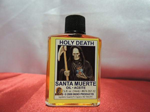 Santa Muerte Amarilla - Holy Death Yellow