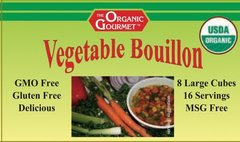 Vegetable Bouillon Cubes, Organic