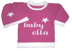 """A Star Is Born"" Personalized Baby Layette Set"