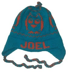 Personalized Owl Earflap Hat
