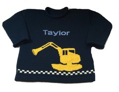 Personalized Excavator Construction Pullover