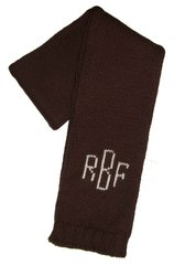 Monogrammed Scarf for Infants and Children