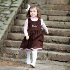 Custom Made Corduroy Pinafore Dresses
