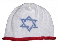 Roll Hat with Star of David Motif