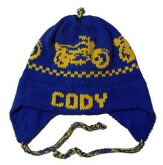 Personalized Motorcycle Earflap Hat