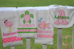 4 pc. Embroidered Gift Set for Little Girls