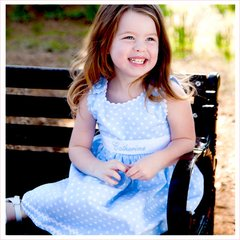 Custom Made Pique Sash Dresses for Your Little Girl