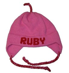 Personalized Solid  Earflap Hat