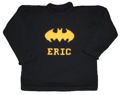 Custom Super Hero Personalized Sweater