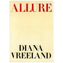 DIANA VREELAND : ALLURE (FIRST EDITION/OUT OF PRINT)