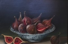 MIMI ROBERTS : FIGS IN A BOWL