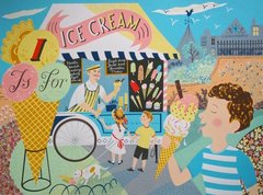 EMILY SUTTON: I IS FOR ICE CREAM