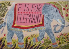 EMILY SUTTON: E IS FOR ELEPHANT