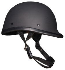 Flat Black Jockey Novelty Helmet