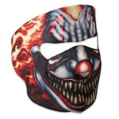 Smoking Clown Neoprene Facemask