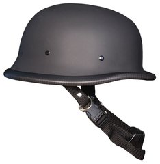 Flat Black German Novelty Helmet