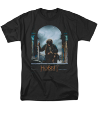 The Hobbit The Battle of the Five Armies Bilbo Poster Adult T-shirt