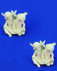 "Sitting Angel with Pearl 6"" (6PC SET)"
