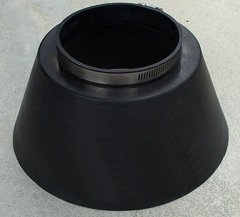 "Large Six Inch (6"") Standard Storm Collar (STD)"