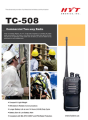 TC-508 Commercial Two Way Radio