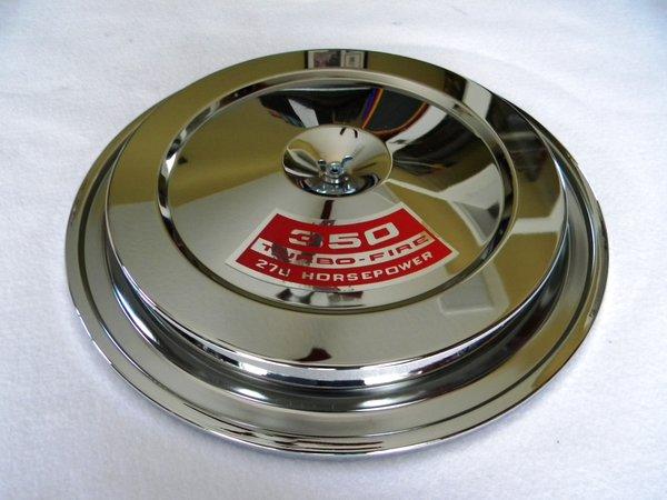 1968 Oem Air Cleaner : Chevrolet chrome air cleaner musclecaraircleaners llc