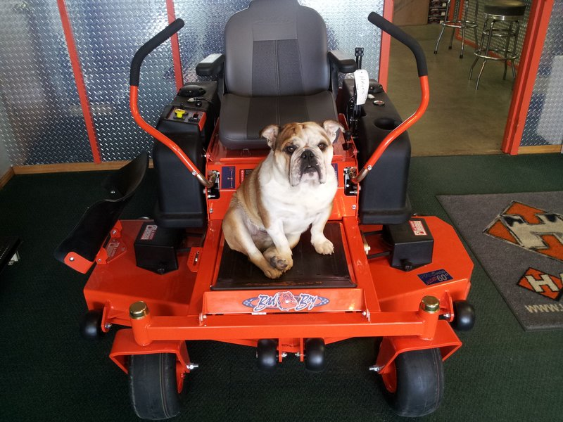Bad Boy Mowers showroom