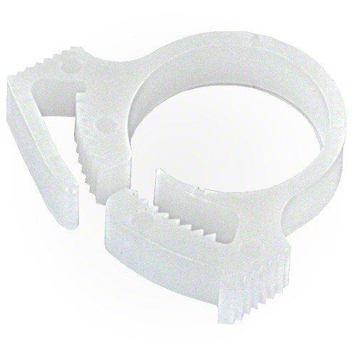 Polaris Sweep Hose Attach Clamp White Aquascape Okc