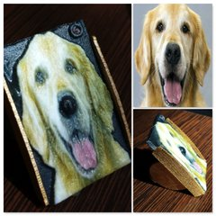 Golden Retriever Pet dog Selfie