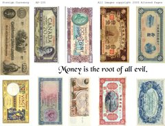 105 Foreign Currency Printable