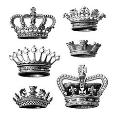 Mini Crowns Stamp